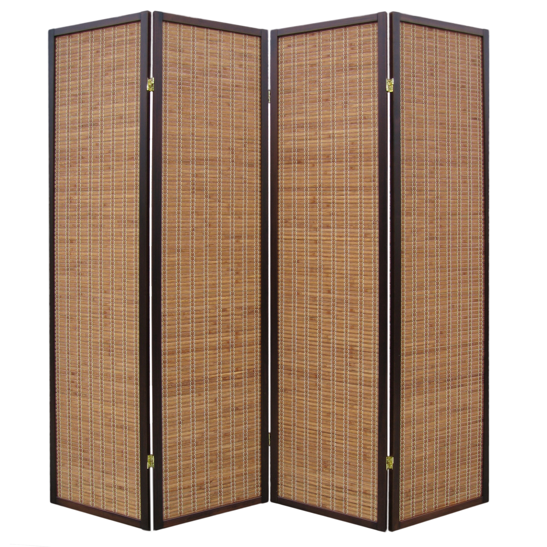 Kobe Walnut Panel Room Divider Or Screen The Original Screen - 4 panel room divider