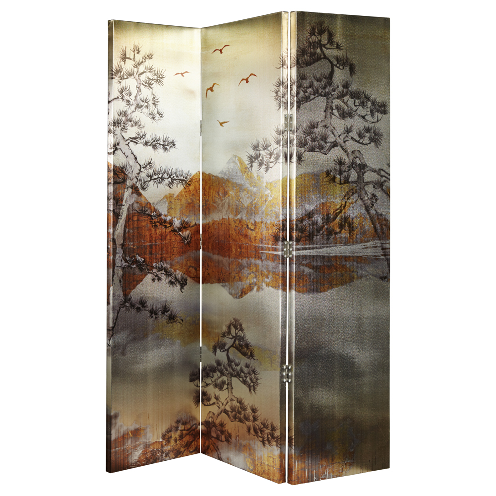 kyasha gold 3 panel by arthouse the original screen company